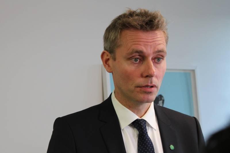 Ola Borten Moe (Sp) blir forsknings- og høyere utdanningsminister