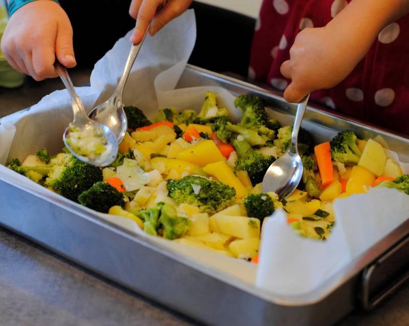 Alle de kommunale barnehagene i bydel St.Hanshaugen serverer sunn mat fra en felles meny.