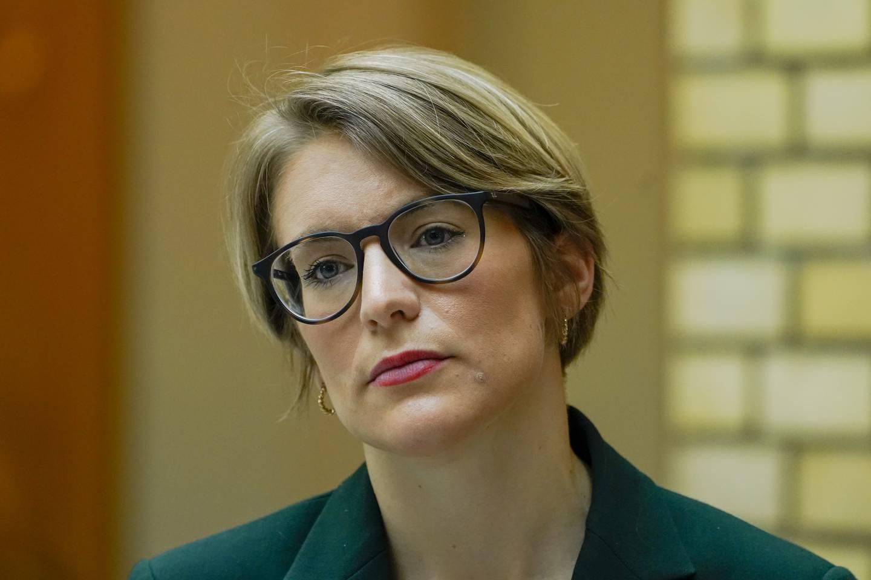 Kari Elisabeth Kaski, finanspolitisk talsperson i SV.