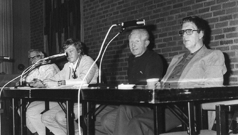 Moss Jern og Metall. Fra venstre: mPoul Jensen, Trio Ving, Fred W. Iversen, Moss Verft, Fredrik A. Johansen, Moss verft og Bjørn Bangstein , Moss Verft.