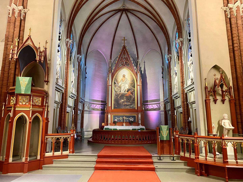 Bragernes kirke 150 år.