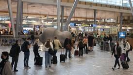 Munnbindkravet på Oslo lufthavn fjernes