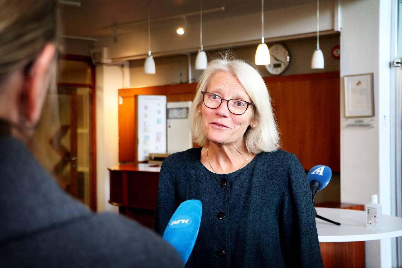 Smittevernoverlege Ruth Midtgarden.