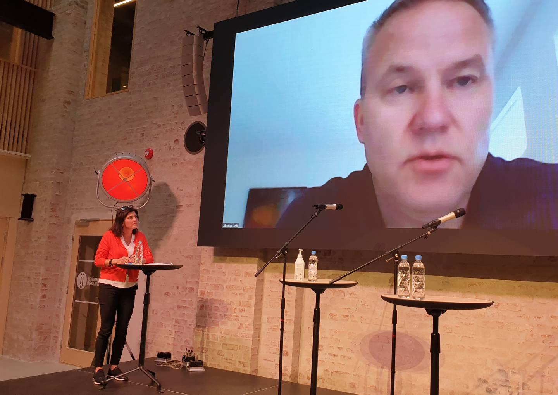 Resett-redaktør Helge Lurås under Ytringsfrihetskommisjonens innspillsmøte på Pressens Hus torsdag
