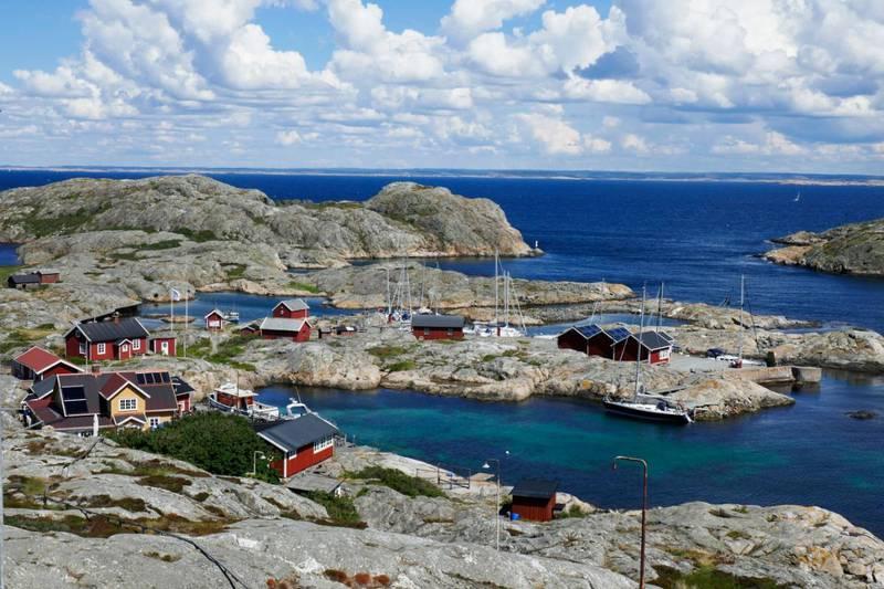 Väderöarna i Bohuslän i Sverige, et område hvor mange nordmenn har hytte. Foto: Erik Johansen / NTB scanpix