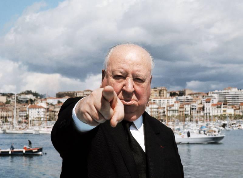 Alfred Hitchcock var en ihuga støttespiller for Cannes-festivalen i dens første år, blant annet med «Psycho», «Fuglene» og «Frenzy».