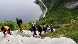 Spektakulære trappeturer i frisk luft