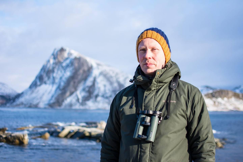 Martin Eggen, naturvernrådgiver i Norsk Ornitologisk Forening