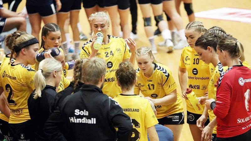 Sola Håndball under en tidligere sesong. Foto: Pål Karstensen