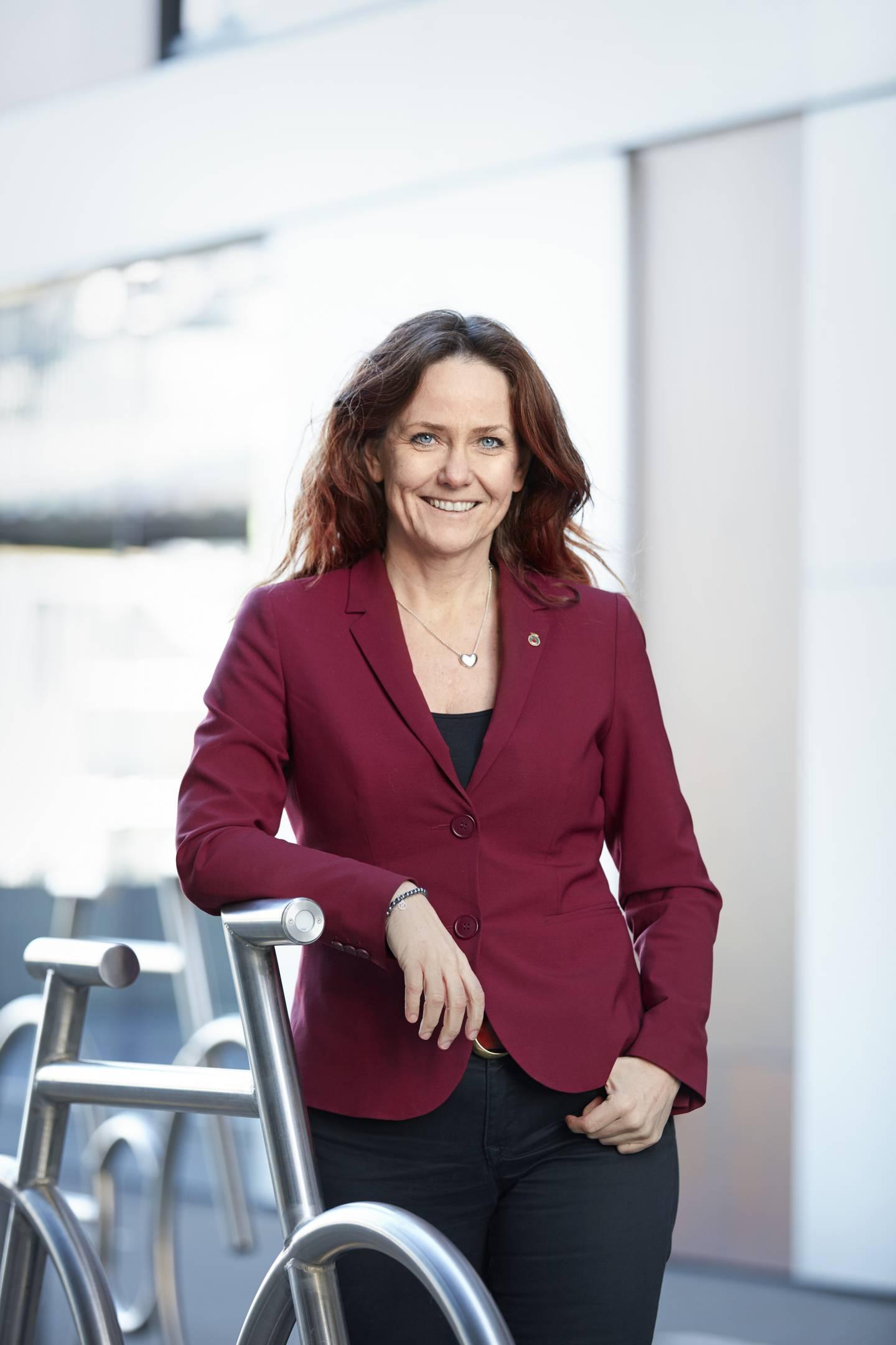 Klimadirektør Heidi Sørensen.