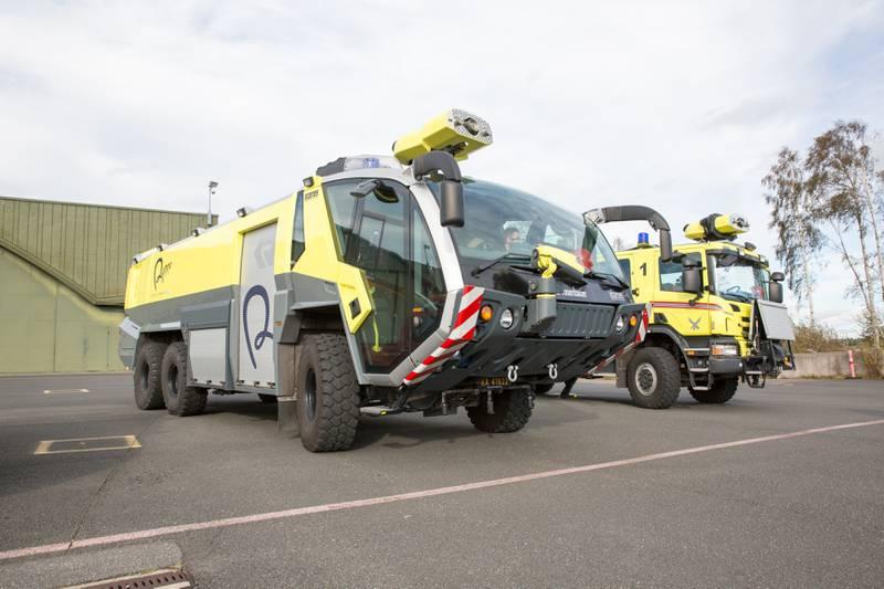 Brann-, rednings og plasstjenesten (BRP) på Rygge har inntil 1. november vært drevet av Rygge Sivile Lufthavn AS (RSL).