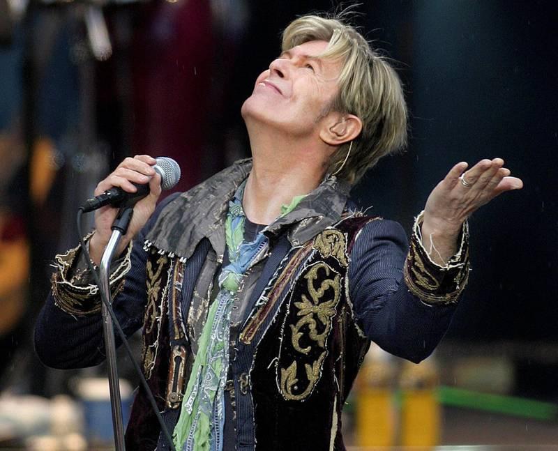 David Bowie på Norwegian Wood, 2004 – en av de siste konsertene han gjorde. Foto: Marte Christensen