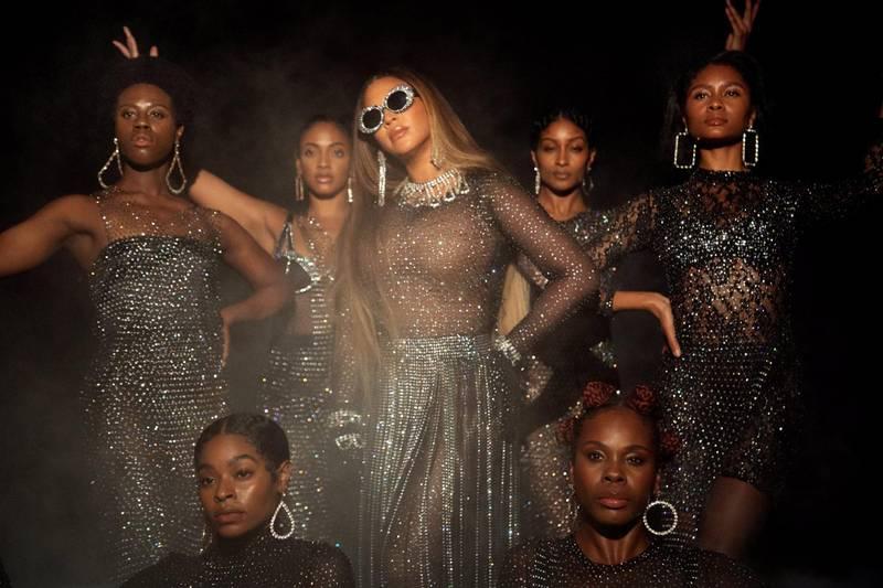 Beyoncé i sitt visuelle album «Black Is King». Foto: Andrew White/Parkwood Entertainment