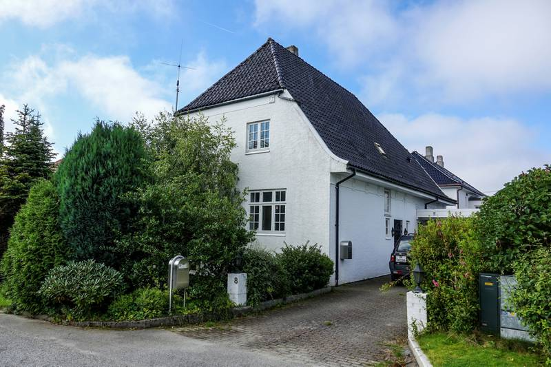 Denne eiendommen i Øvre Orknøygate ble først forsøkt solgt for 15 millioner. Salgssummen ble til slutt 12 millioner. Foto: Roy Storvik