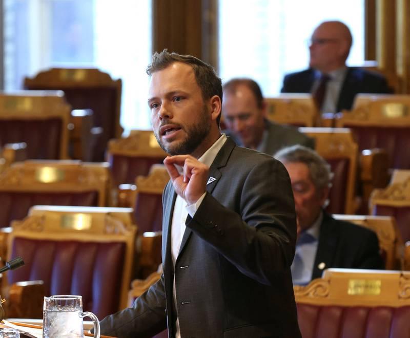 Uvillig millionlønnsmottaker 1: 1: SV-leder Audun Lysbakken vil bremse politikernes lønnsvekst.