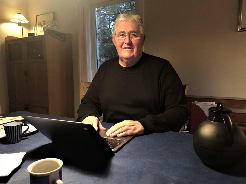 Ulf Tolfsen, pensjonert designer, produktutvikler og oppfinner.