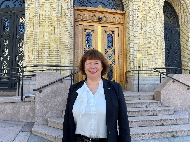 Siv Mossleth, medlem av Stortingets transport- og kommunikasjonskomité for Sp.
