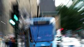 Kollisjon mellom trikk og ambulanse i Oslo