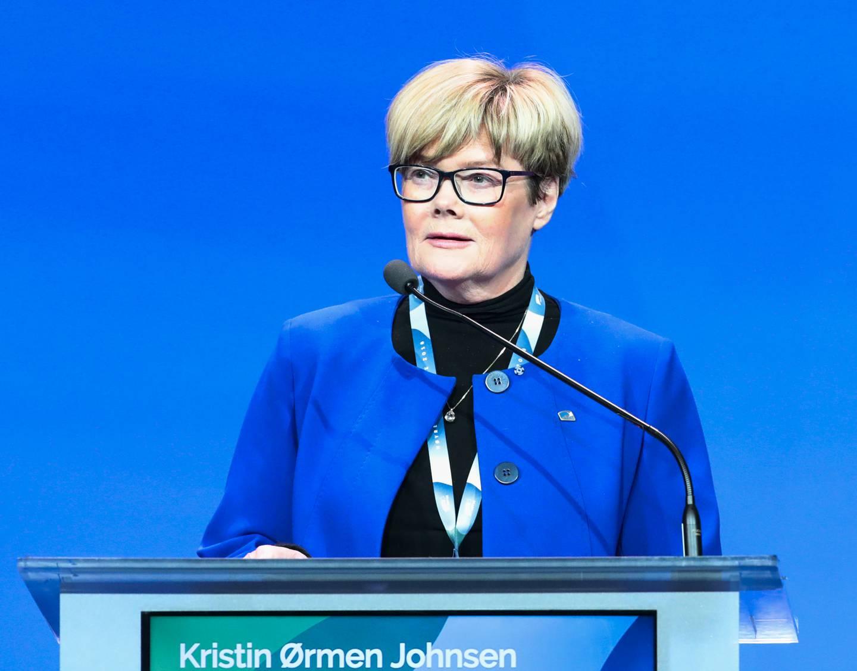 Kristin Ørmen Johnsen fra Høyre mener regjeringen allerede har iverksatt utjevnende tiltak. Foto: Lise Åserud / NTB