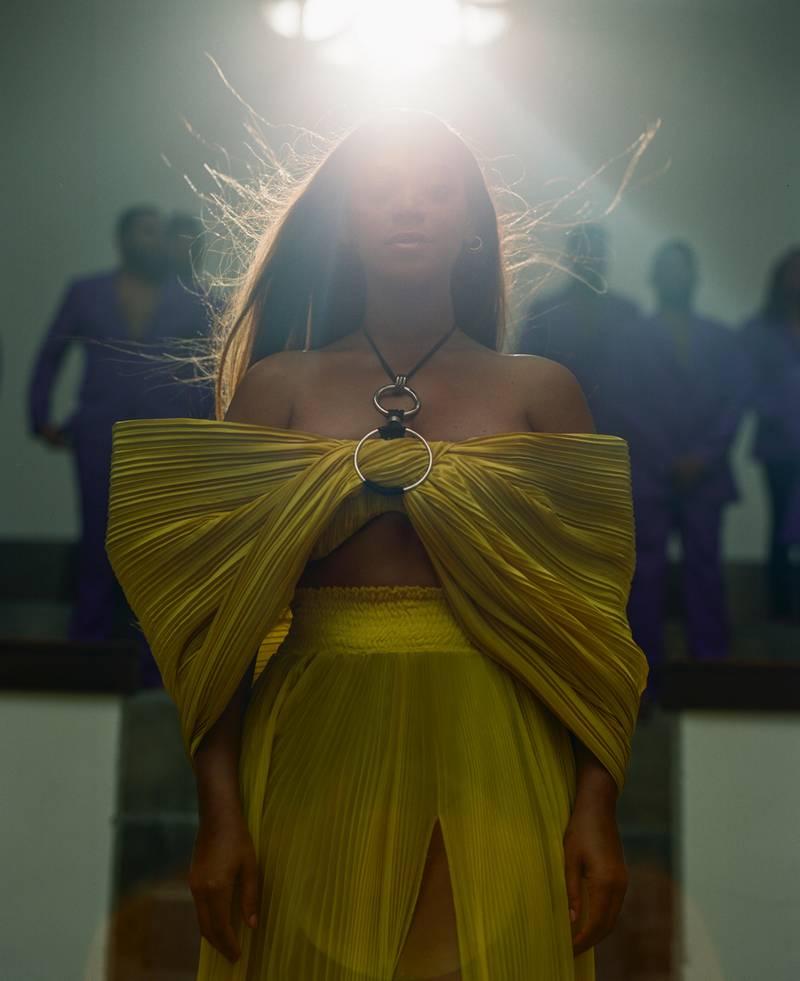 "Beyoncé in ""Spirit"" from the visual album BLACK IS KING, on Disney+"
