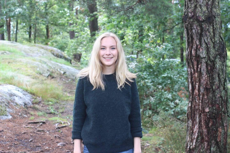 Linn-Elise Øhn Mehlen førstekandidat  i Buskerud for Rødt.