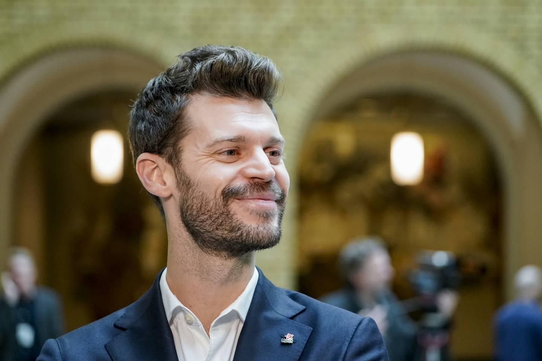 Rødt-leder Bjørnar Moxnes synes ikke den nye regjeringen går langt nok. Foto: Terje Pedersen / NTB