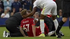 Liverpools Elliott opereres etter skrekkskaden