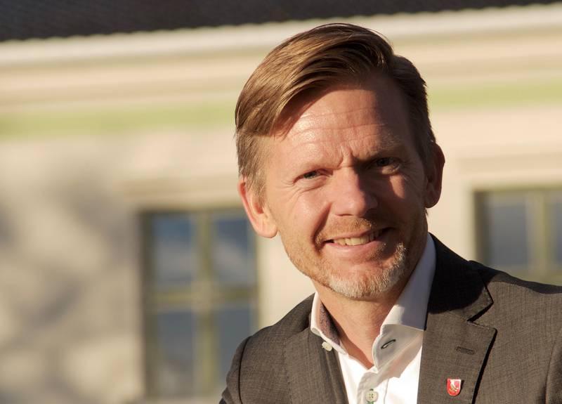 Tage Pettersen, ordfører i Moss. Foto. Kristine L. Andreassen