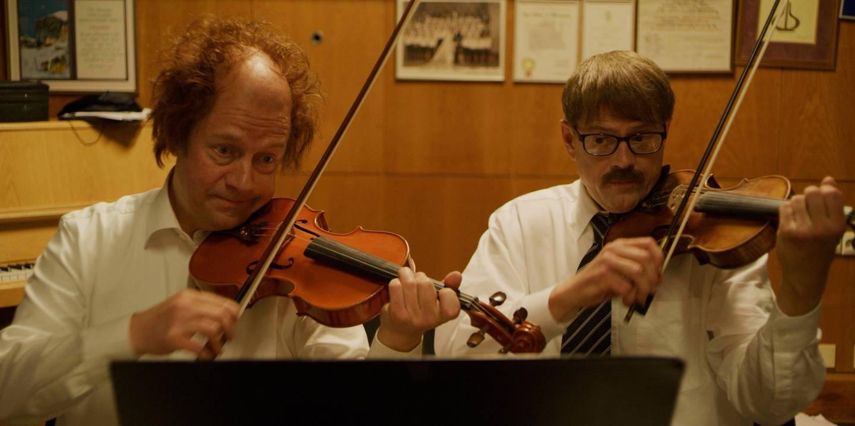 Bendik og Alfred er fiolinister i NRKs kringkastingsorkester, og har spilt sammen siden de var små.