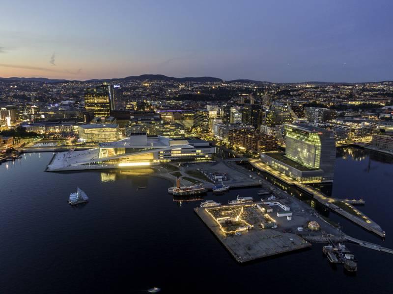 Det nye museet er fem ganger større enn det gamle Munchmuseet på Tøyen.  Foto: Cornelius Poppe / NTB
