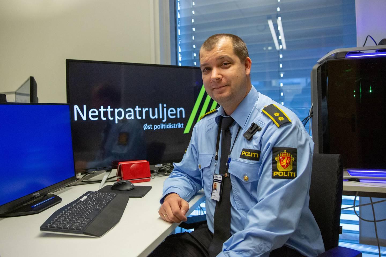 Faglig leder Jostein Dammyr er den eneste i patruljen som står fram i media med fullt navn. De andre skjermes.