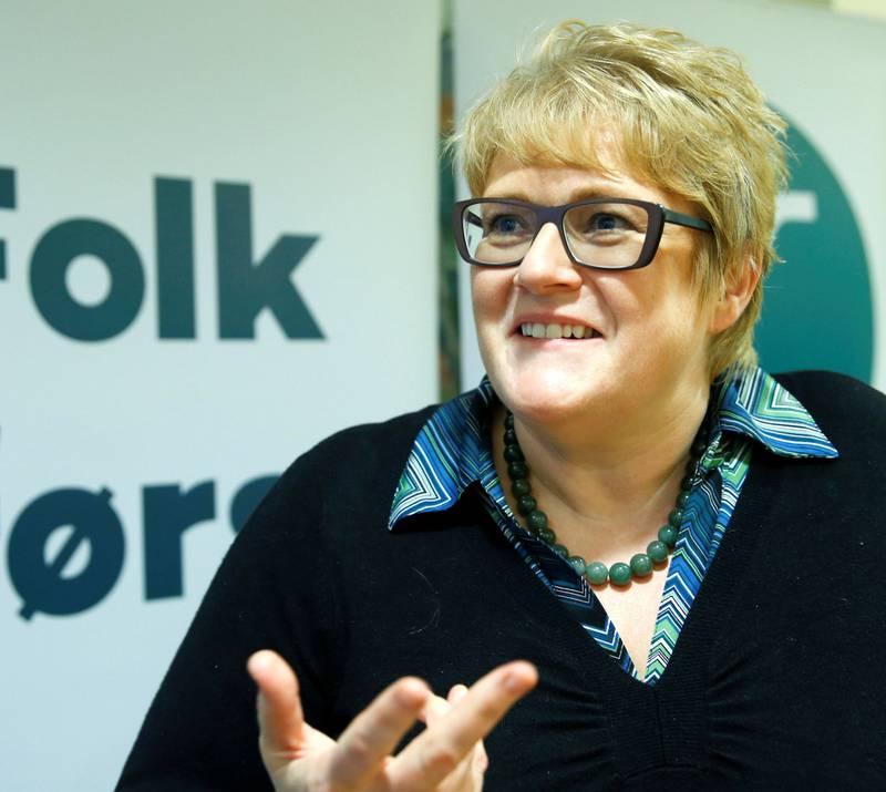 Kulturminister Trine Skei Grande mener Bøhlers uttalelser er ekstremt gammeldagse.
