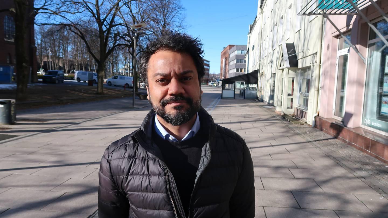 Shakeel Rehman (Ap).  Gruppeleder for Moss Ap i kommunestyret.