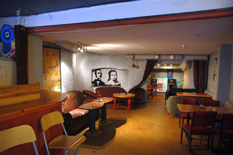 Grei kafé i Oslo. Her møttes Henrik Wergeland og mossejenta Amalie Sofie Bekkevold for første gang.