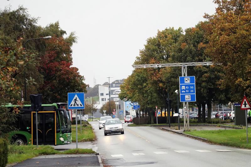 Bomstasjonen i Svanholmen på Forus vil bli koblet ned med virkning fra klokken 23.59 søndag kveld.