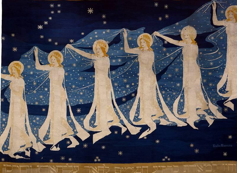Frida Hansens «Melkeveien» (1898) ble hedret med gullmedalje på Verdensutstillingen i Paris i 1900. FOTO: MUSEUM FÜR KUNST UND GEWERBE, HAMBURG