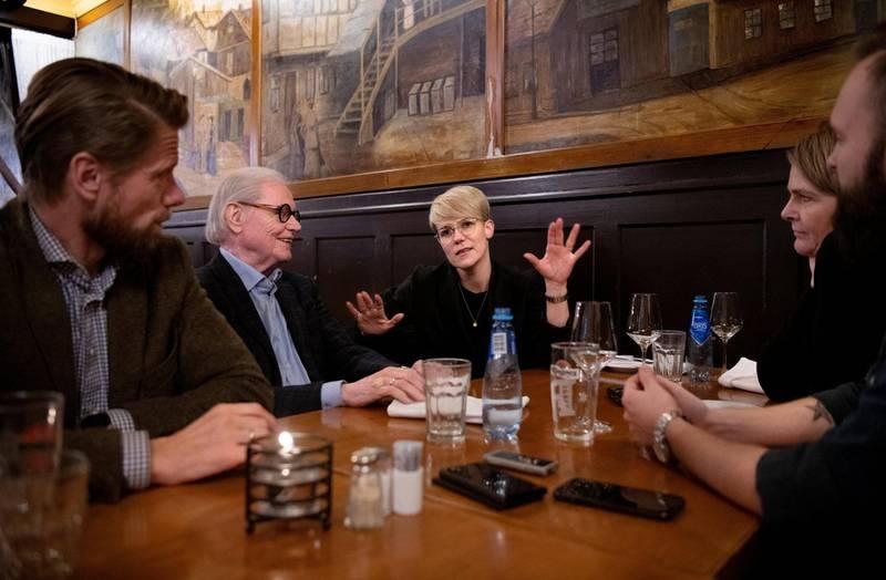 Kjetil Staalesen, Arne Strand, Sigrid Bonde Tusvik, Hege Ulstein og Magnus Forsberg.