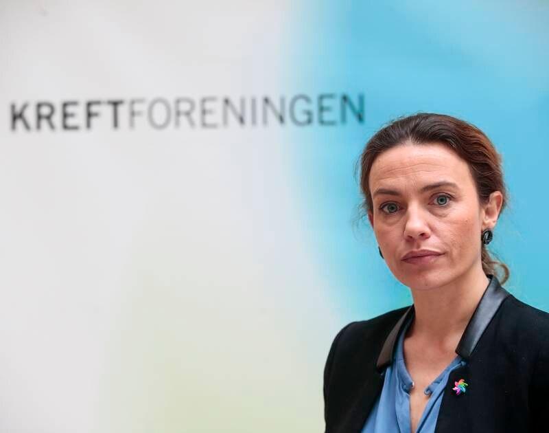 Ingrid Stenstadvold Ross, generalsekretær i Kreftforeningen. Foto: Lise Åserud / NTB