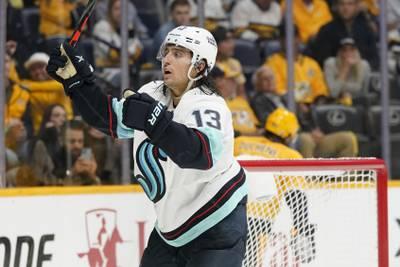 Krakens første seier i NHL
