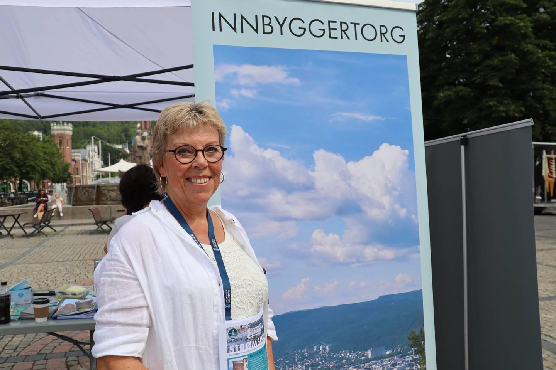 Lena Hillestad er rådgiver for Knutepunkt Strømsø i Drammen kommune.