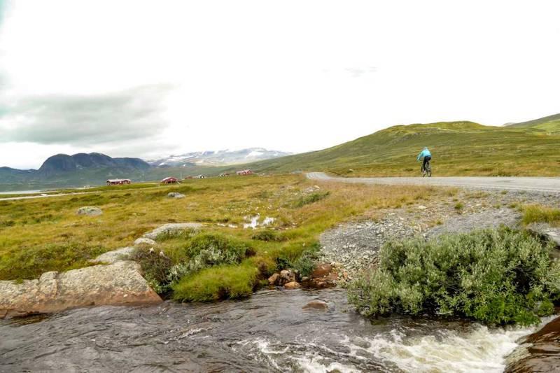 Jotunheimvegen er et godt sykkelalternativ.