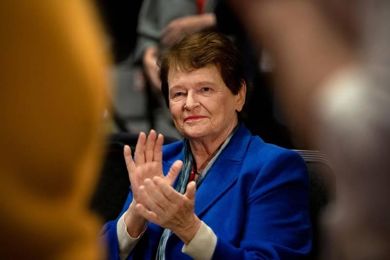 Gro Harlem Brundtland. Arbeiderpartiet. Landsmøte 2019. Arbeiderpartiets 67. ordinære landsmøte.