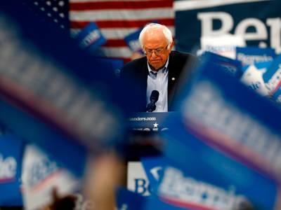 Bernie Sanders trekker seg