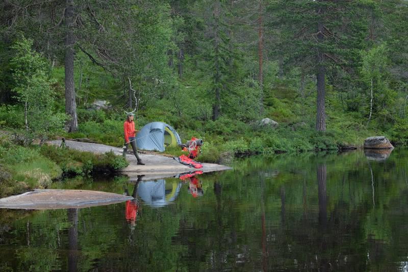 Oslo-folk kan få en nydelig turopplevelse om de drar til Finnemarka i Drammen.