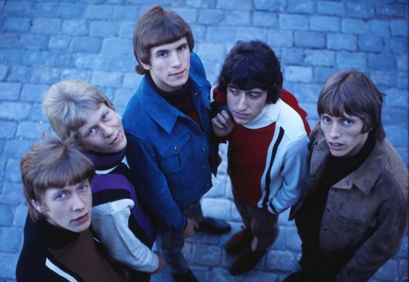 1967-utgaven av gruppa, med Arild Krosby, Finn John Andresen, Truls Lorck, Svein Finjarn og Kjell Asperud. FOTO: SVEIN BOYE ANDERSEN