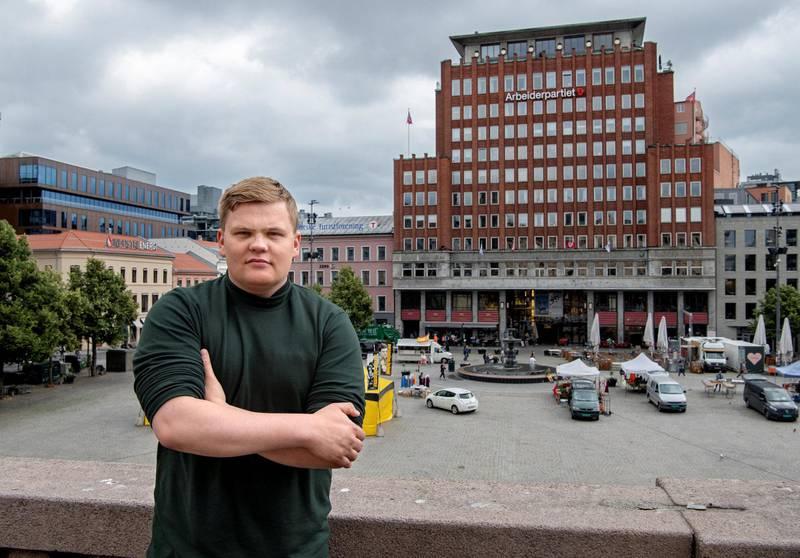 Gaute Børstad Skjervø var 16 år gammel da terroristen angrep Utøya 22. juli 2011. Åtte år senere er han enda mer kampklar enn før, og lover å slå tilbake ytre høyre-kreftene.