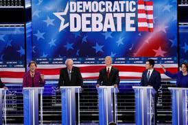 Demokrat-veteranene rett i strupen på nykommer Bloomberg