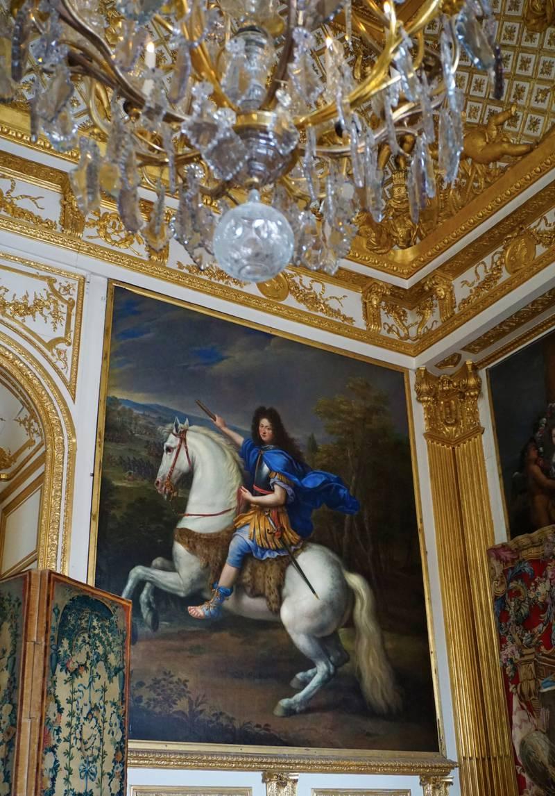 Solkongen, Ludvig 14., gjorde i løpet av sine 72 regjeringsår Versailles til et utstillingsvindu for Frankrikes makt og rikdom – og gode smak FOTO: CHRISTINE BAGLO