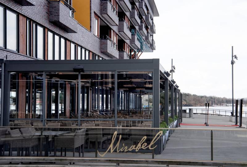 Kjøkkenet på Mirabel på Sørenga trenger sårt en oppgradering, selv om restauranten er nyåpnet. Det øvrige ved stedet oser av luksusfølelse.