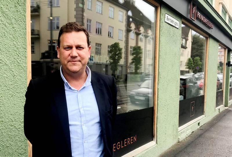 verditap: Mange vil vegre seg for å kjøpe disse leilighetene nå, fastslår eiendomsmegler Erling Beck. FOTO: PRIVAT